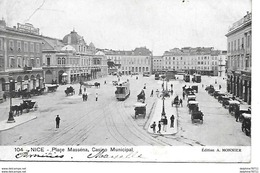 Nice- Place Masséna, Casino Municipal ( En L'état ) - Plazas