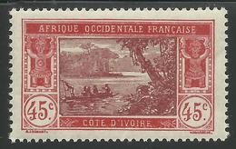 COTE D'IVOIRE 1934 YT 104** - SANS CHARNIERE NI TRACE - Elfenbeinküste (1892-1944)