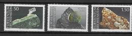 LIECHTENSTEIN Nº 922 AL 924 - Minerals