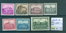 308-314 Xx   Côte 195.00€ - België