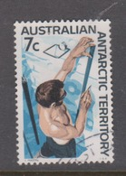 Australian Antarctic Territory ASC 12 1966 Definitives 7c Snow Strata,used - Used Stamps