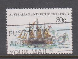 Australian Antarctic Territory ASC 45 1979-82 Ships,30c Fram,used - Used Stamps