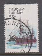 Australian Antarctic Territory ASC 50 1979-82 Ships,55c Discovery,used - Used Stamps