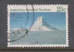 Australian Antarctic Territory ASC 63 1984 Scenes,25c Ice,used, - Used Stamps