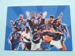 L'Equipe De FRANCE ( Publi. TOTAL / ELF ) Anno 2002 ( Zie / Voir Photo Svp ) - Calcio