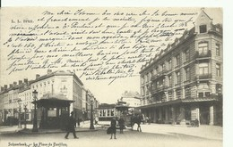 CP.Bruxelles-Schaerbeek (ex-Collection DELOOSE) - La Place Du Pavillon Et (TRAM à CHEVAL) 1904 - W0253 - Schaarbeek - Schaerbeek