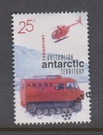 Australian Antarctic Territory ASC 136 2001 Australians In The Antarctic,Setlement And Science,Transports,used - Used Stamps