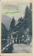 Processione Veduta Di Donne In Processione Monsano Ancona Marche Retro Scritto Timbro Amb. (v.retro/f.piccolo) - Eventi
