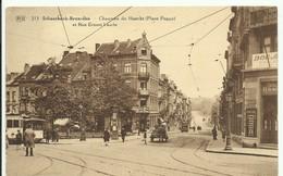CP.Bruxelles-Schaerbeek (ex-Collection DELOOSE) - Chaussée De Haecht (Place Pogge) Et Rue Ernest Laude (Tram 3 à Gauche) - Schaerbeek - Schaarbeek