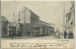 CP.Bruxelles-Schaerbeek (ex-Collection DELOOSE) - Les TRAMWAYS BRUXELLOIS, Chaussée De Haecht (carte RR) Ici Le 963 Du B - Schaarbeek - Schaerbeek