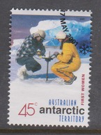 Australian Antarctic Territory ASC 141 2001 Australians In The Antarctic First Women,used, - Used Stamps