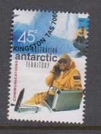 Australian Antarctic Territory ASC 142 2001 Australians In The Antarctic Communications,used - Used Stamps