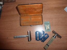 Rasoir Civil ,uniformes, Autres, Equipements,1939-45,1914-18 - Armes Neutralisées
