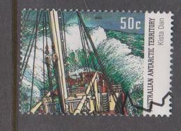 Australian Antarctic Territory ASC 153 2003 Antarctic Ships .50c Kista Dan,used, - Used Stamps