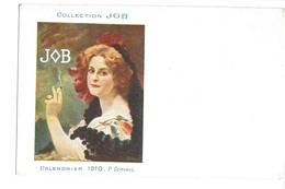 CPA JOB P GERVAIS 1910 ART NOUVEAU - Illustrateurs & Photographes