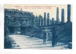 """ALGERIE - TIMGAD """" Oreste """" Pièce Grecque De M. R. Berton Jouée Par La Troupe De La Comédie Française Le 9/5/1926 - N° 9 - Algérie"""