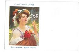 CPA JOB P GERVAIS 1909 ART NOUVEAU - Illustrateurs & Photographes