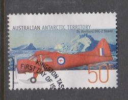 Australian Antarctic Territory ASC 161 2005 Aviation.50c Dh-2 Beaver,used - Used Stamps
