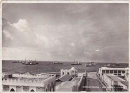 "1936-Somalia Italiana Cartolina Foto ""Mogadiscio-la Rada"" - Somalia"