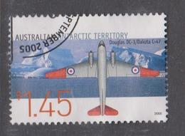 Australian Antarctic Territory ASC 163 2005 Aviation,$ 1.45 Douglas DC-3,used, - Used Stamps
