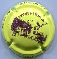CJ-CAPSULE-CHAMPAGNE PERNET LEBRUN N°15 Vert-jaune Et Violet - Autres