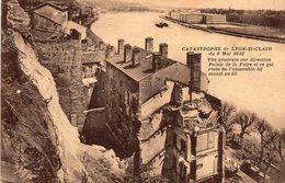 Lyon Saint Clair - Catastrophe Du 8 Mai 1932 - Vue Générale Sur Direction Palais De La Foire - Lyon