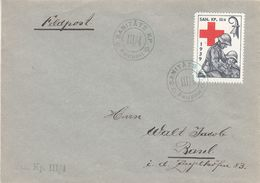 Suisse - Poste Militaire - Lettre De 1939 / 40 -oblit Feldpost - Croix Rouge - Sanitäts KP - Soldaten Briefmarken