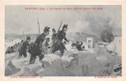 MILITARIA - GUERRE - ZAATCHA (1849) - LES SAPEURS DU GENIE - ILLUSTRATEUR R. ARUS - Other Wars