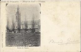 Leuven - Louvain - Ordre Des Prémontrés - Abbaye Du Parc - Louvain Entrée De L'Eglise - 1900 - Leuven