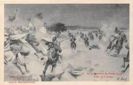 MILITARIA - GUERRE - COLLO (1843) - LE 31° POURSUIT LES ARABES ... - ILLUSTRATEUR R. ARUS - Guerres - Autres