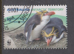 Australian Antarctic Territory ASC 171 2007 Royal Penguins,1.00 Eudiptes Schlegell,Pair,Used, - Used Stamps