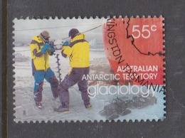 Australian Antarctic Territory ASC 173  2008 International Polar Year,55c Glaciology,used - Used Stamps