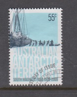 Australian Antarctic Territory ASC 176 2009 Centenary Of First Expedition To South Pole,55c Ship,used, - Used Stamps