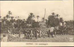 """1911/12-""""Guerra Italo-Turca,Derna Un Paesaggio""""assolutamente Perfetta - Altre Guerre"""