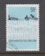Australian Antarctic Territory ASC 177 2009 Centenary Of First Expedition To South Pole,55c Car,used, - Used Stamps