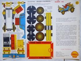 Carton Prédécoupé Shell N°6 Delahaye 1896- Bolides D'Autrefois - Carton / Lasercut