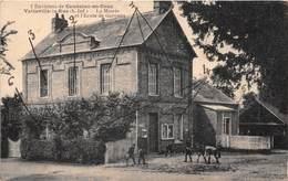 Environs De CAUDEBEC EN CAUX - VATTEVILLE LA RUE - La Mairie Et L'Ecole De Garçons - Caudebec-en-Caux