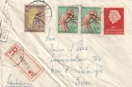 Gehavende Brief Aangetekend Merauke - Nouvelle Guinée Néerlandaise
