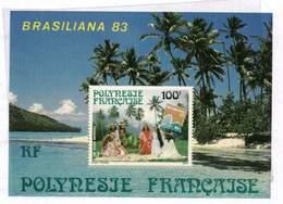 Polynésie. Bloc** N° 7 -  Brasiliana 83 - Blokken & Velletjes