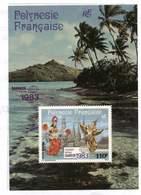 Polynésie. Bloc** N° 8 -  Bangkok 83 - - Blokken & Velletjes