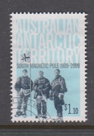 Australian Antarctic Territory ASC 179 2009 Centenary Of First Expedition To South Pole,$ 1.10 Flag,used, - Used Stamps