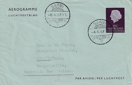 Verzonden Aerogramme - Nouvelle Guinée Néerlandaise
