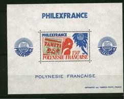 Polynésie. Bloc** N° 6-  Philexfrance 82 - Blokken & Velletjes