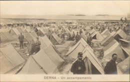 "1911/12-""Guerra Italo-Turca,Derna Un Accampamento""assolutamente Perfetta - Altre Guerre"
