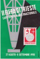1950-Trieste II Fiera Campionaria Internazionale - Bolsas Y Salón Para Coleccionistas