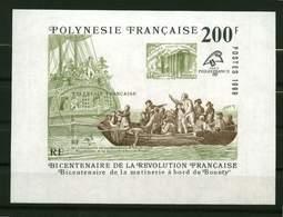 """Polynésie **  Bloc N° 15 - """" Philexfrance 89 """"- - Blokken & Velletjes"""