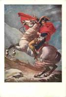 Art - Peinture - Jacques-Louis David - Napoléon Bonaparte - Carte Neuve - Voir Scans Recto-Verso - Paintings