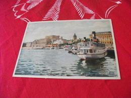 ILLUSTRATORE VEDI SIGLA STOCCOLMA STOCKHOLM NAVE SHIP TRAGHETTO THE ROYAL OPERA HOUSE - Illustratori & Fotografie
