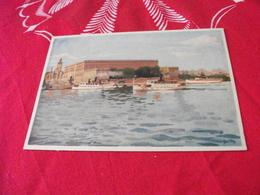ILLUSTRATORE VEDI SIGLA STOCCOLMA STOCKHOLM NAVE SHIP TRAGHETTO THE ROYAL PALACE - Illustratori & Fotografie