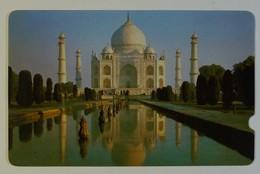 INDIA - GPT Specimen - Taj Mahal - Plessey - Black Reverse - India
